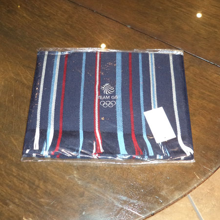 Team GB Olympics Scarf