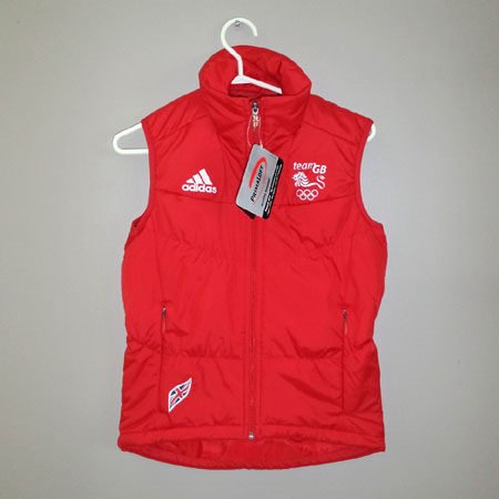Team GB Red Vest