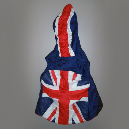 Union Flag Hooded Vest