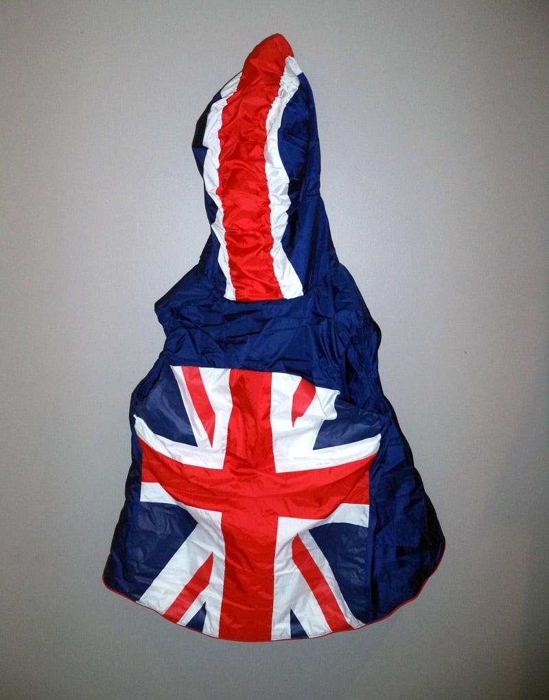 New Adidas Reversible Union Jack Flag Hooded Snow Ski Vest