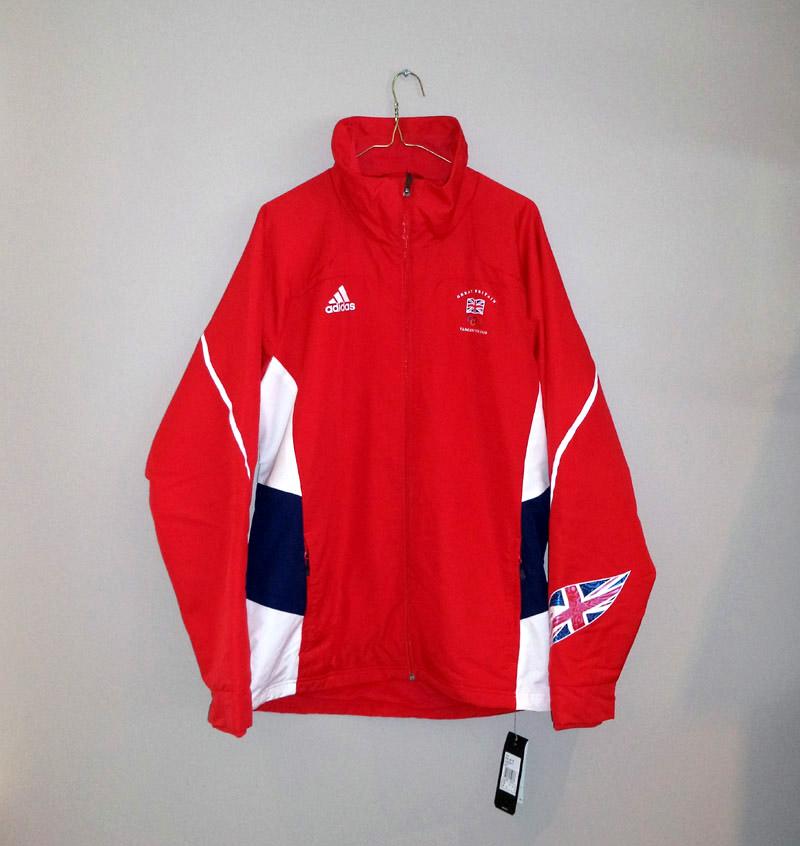 New Adidas Soft Shell Olympics Press Jacket