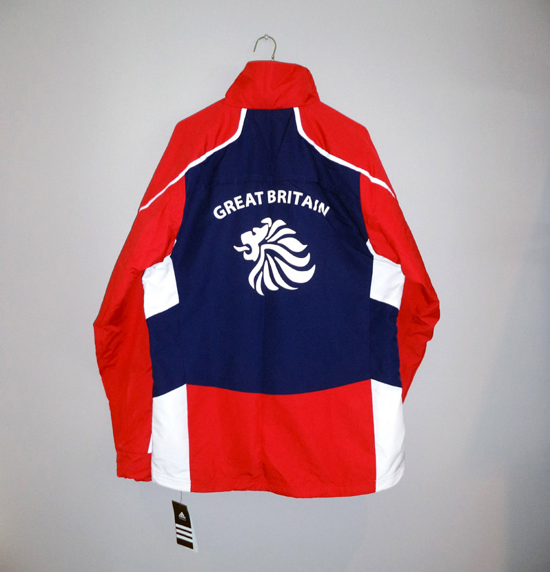 Adidas Team GB Olympics Medal Presentation Jacket