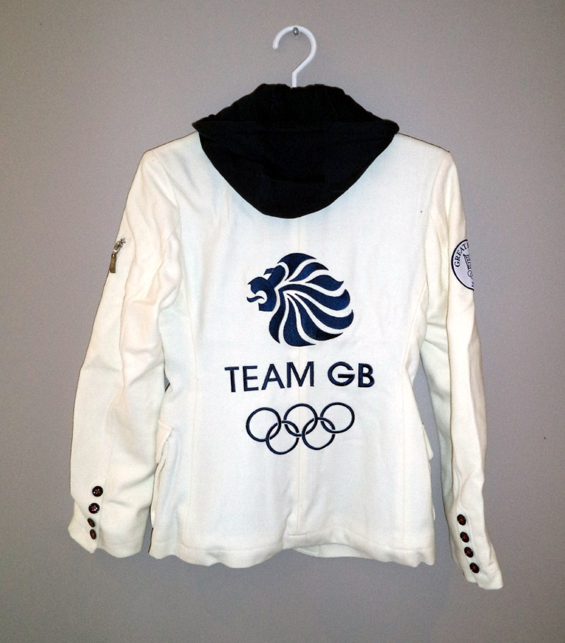 Team Great Britain Womens Olympic Ceremony Uniform Jacket