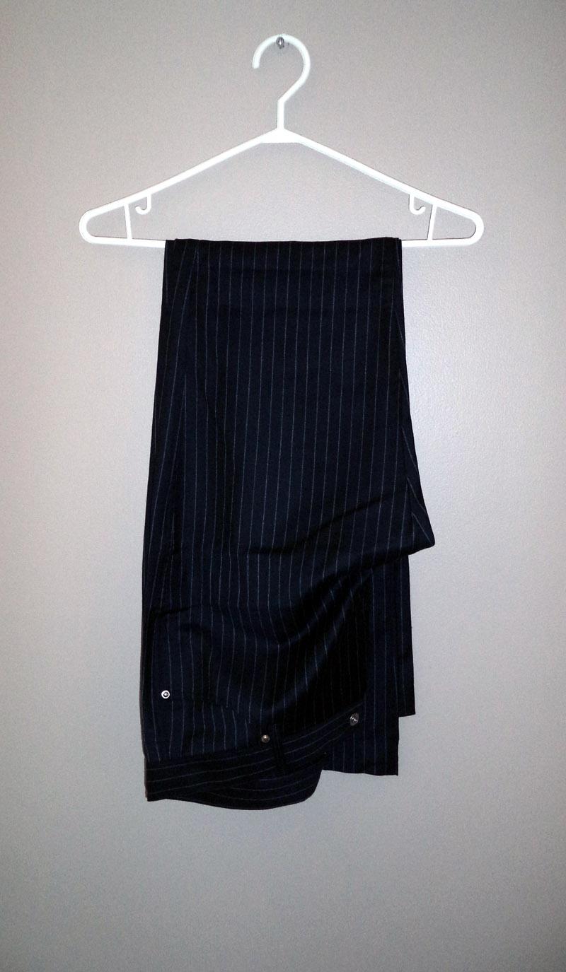 Team GB Olympic Ceremonies Uniform Pinstripe Pants