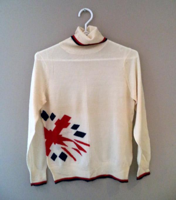 Team Great Britain Winter Olympics Womens Turtle Neck Merino Sweater