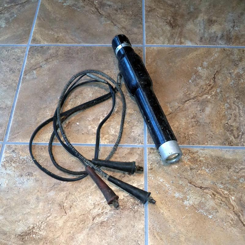 Antique Regent Equipment Stroboscopic 6 Volt Power Timing Light