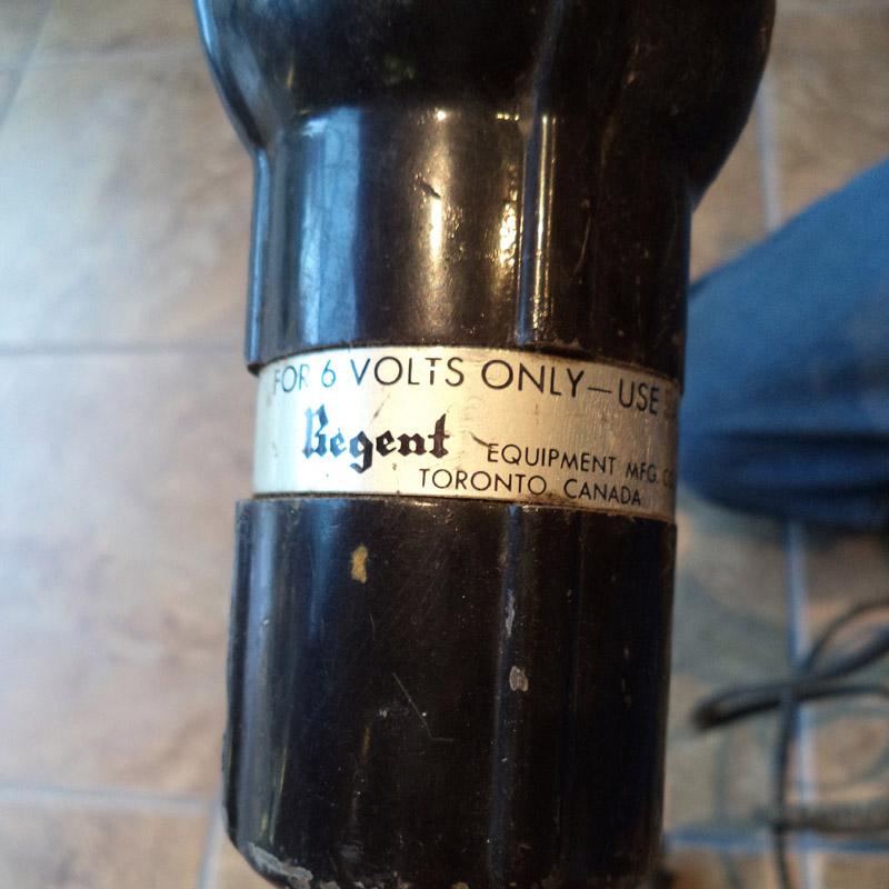 Regent Equipment 6 Volt Timing Light